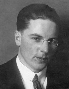 Anders Rongen ca. 1928