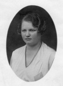 Kari Brunborg ca. 1928